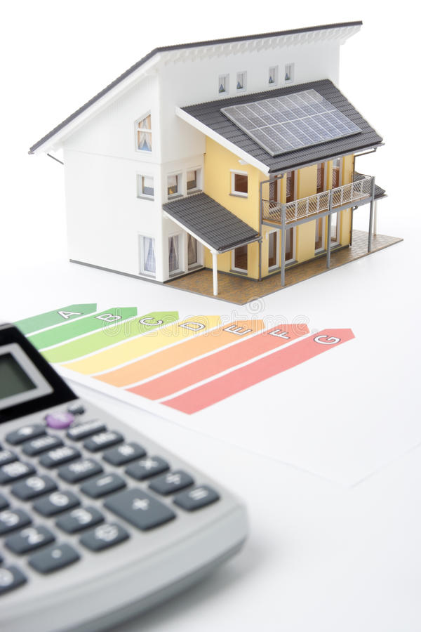 Download House Energy Efficiency Rating Stock Photo - Image: 22697272
