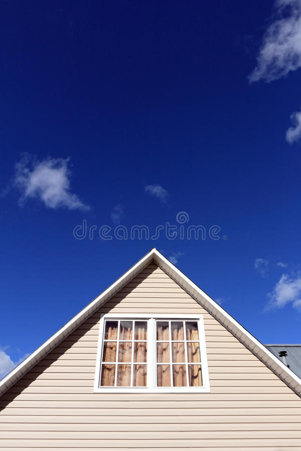 Download House Exterior, Roof Close-up. Vertical. Stock Photo - Image: 26526820
