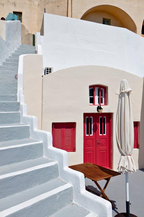 Download House At Fira City Of Santorini Island, Greece Stock Photo - Image: 24317616