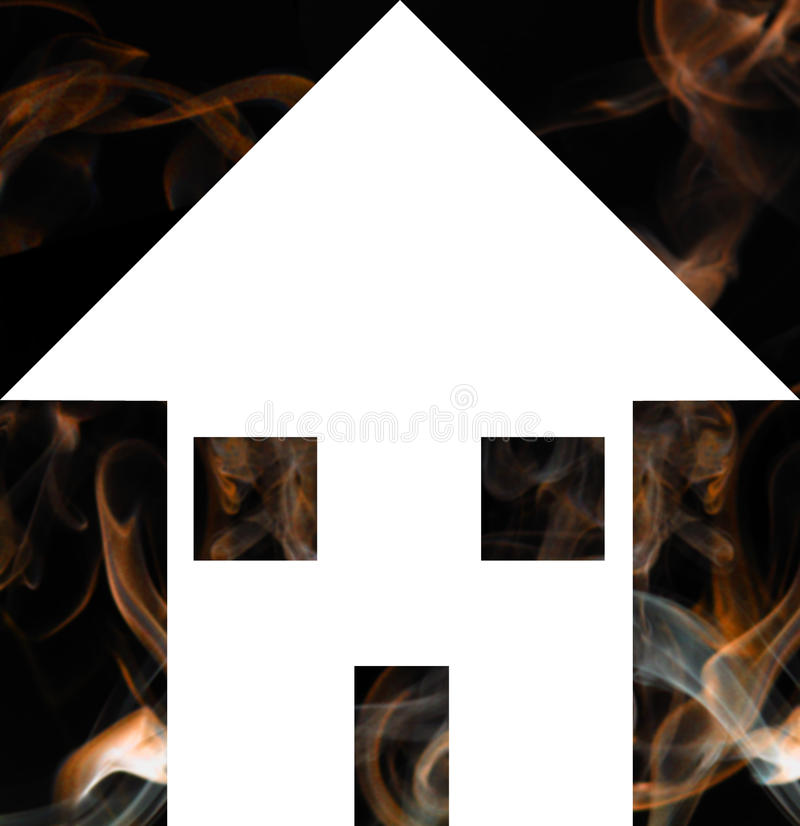 Download House Fire stock illustration. Illustration of alarm - 16671299
