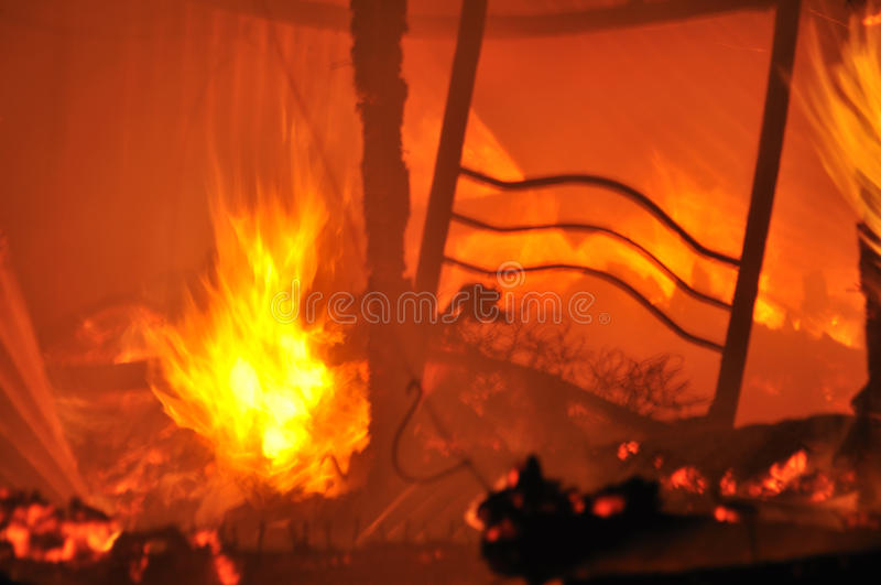 Download House on fire stock image. Image of flames, home, homes - 18699257