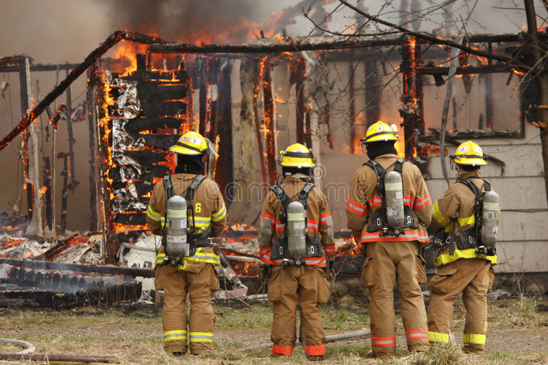 Download House on fire stock photo. Image of fire, emergency, home - 8846772