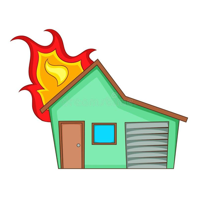 house on fire icon cartoon style stock vector illustration of rh dreamstime com cartoon house on fire black lives matter all lives matter cartoon house on fire