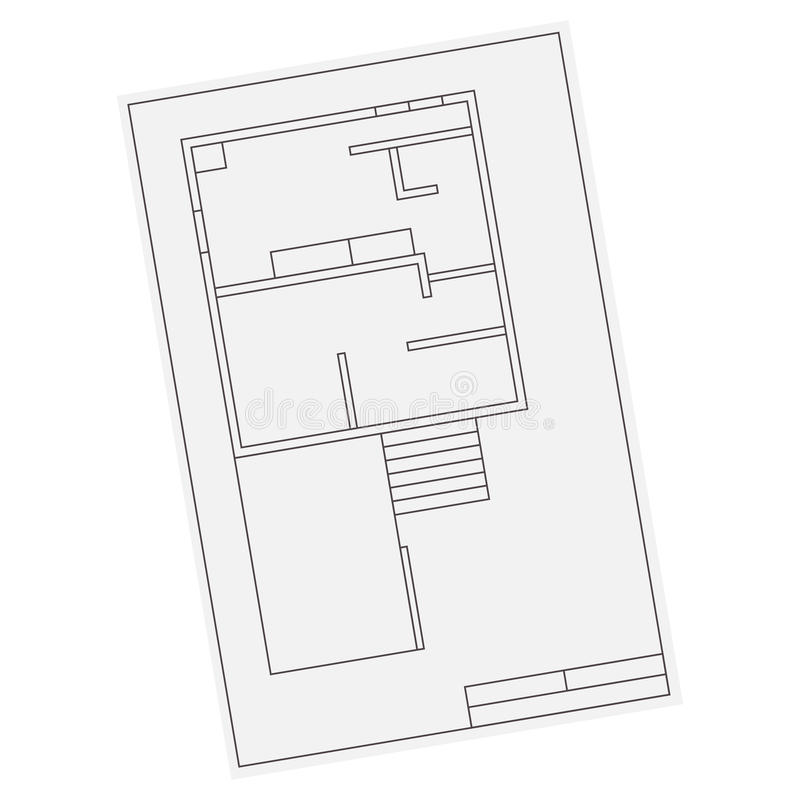 House Floor Plan Eps Apartment House Floor Plans Vector Red Icon