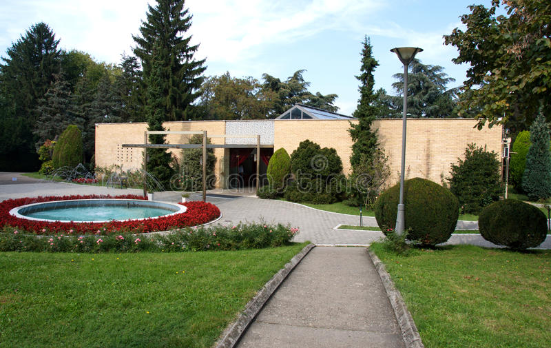 House of Flowers, the mausoleum of Josip Broz Tito, Belgrade, Serbia royalty free stock photos