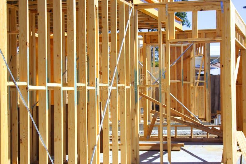 House frame stock image