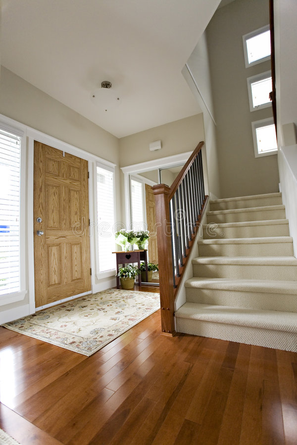 Attractive Download House Front Hall Entrance Stock Image. Image Of Natural   2937949