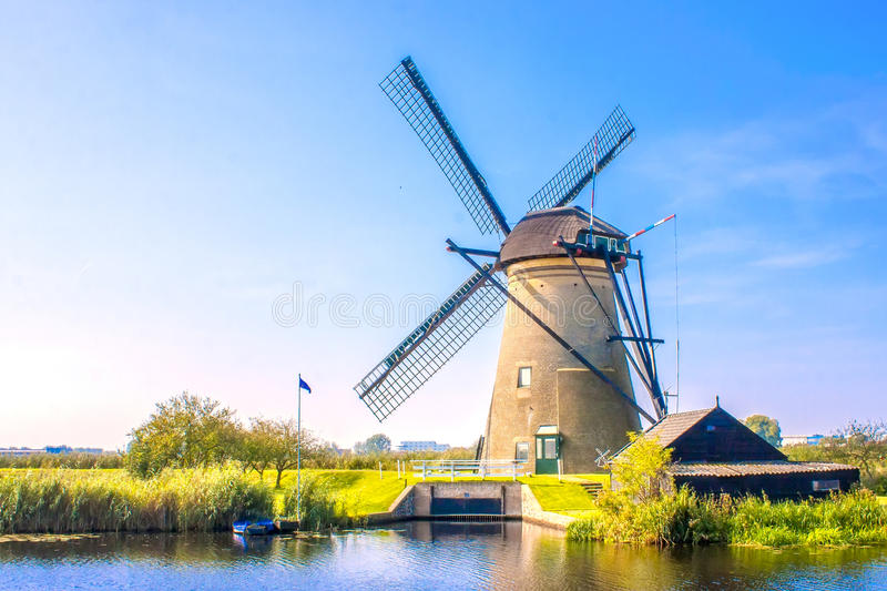 House and the Giant of Netherlands royalty free stock image