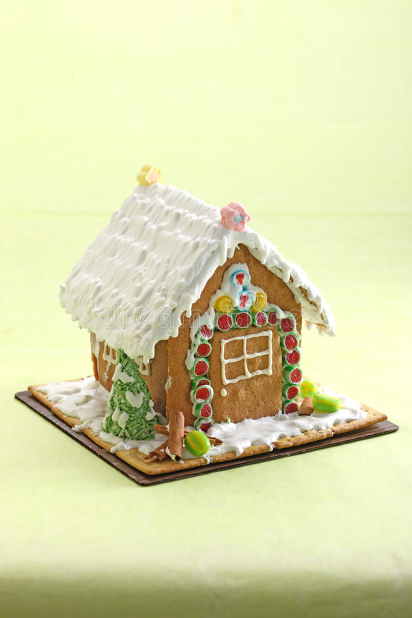 Download House Ginger cookie stock photo. Image of holiday, house - 25239862