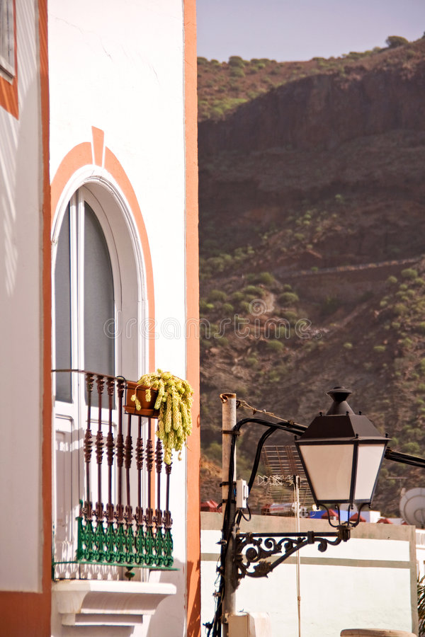 House in Gran Canaria royalty free stock images