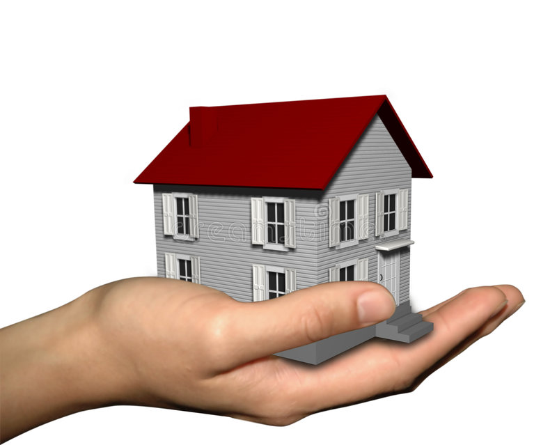 Download House On Hand Stock Photography - Image: 5407172