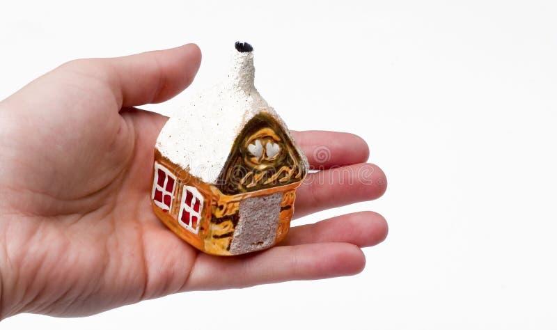 House on hand stock photos