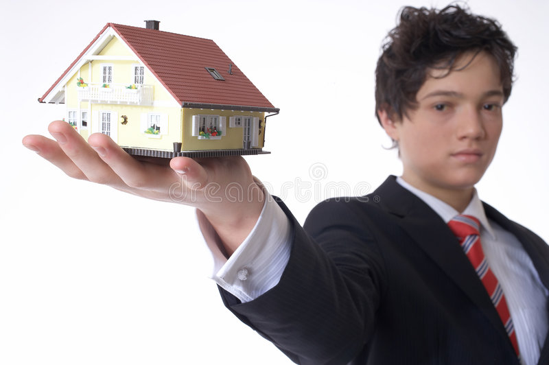 House in the Hand stock images