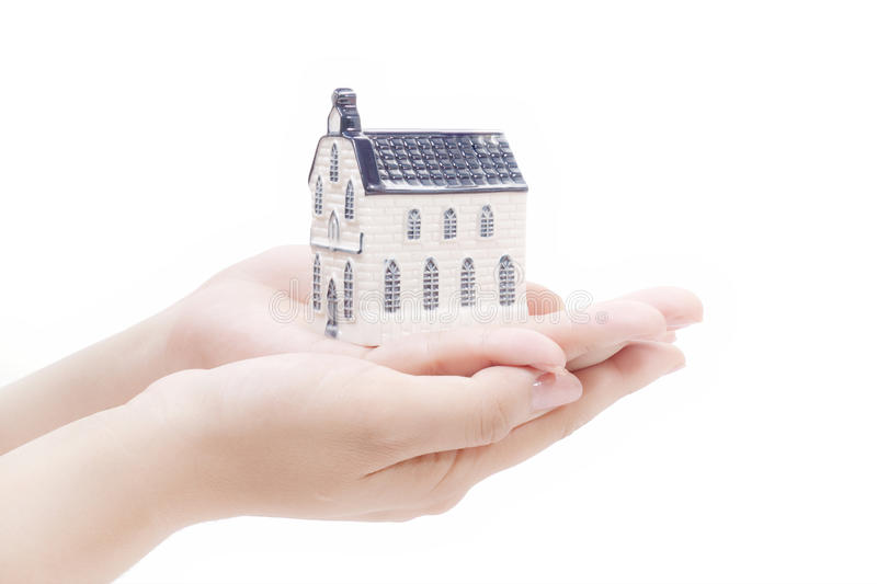 Download House In Hands,real Estate Economy Concepts Royalty Free Stock Photography - Image: 20097797