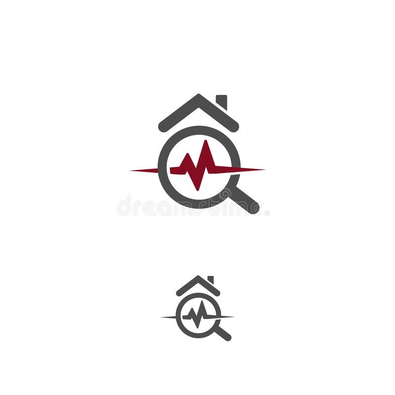 Free House Healthcare Icon. Real Estate Durability Test Logo. Earthquake Property Damage Insurance Logotype. Home Radon Stock Photography - 183391042