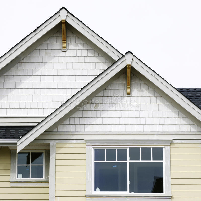 Download House Home Exterior Roof stock photo. Image of facsia - 13516884