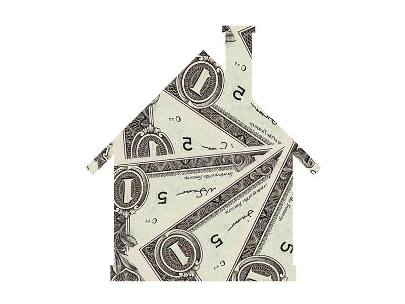 House mortgage real estate icon. House home mortgage real estate web icon symbol design stock images
