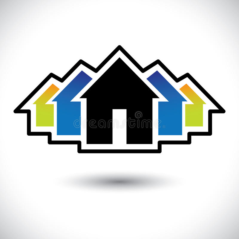 Free House (home) & Residence Sign For Real Estate Royalty Free Stock Photography - 31180067