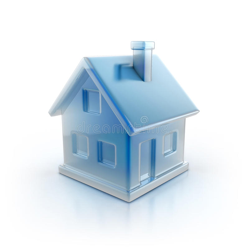 House Icon 3d Illustration Royalty Free Stock Image