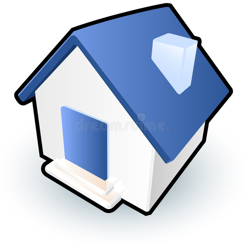 Download House icon stock vector. Image of simplistic, symbol, home - 5376923