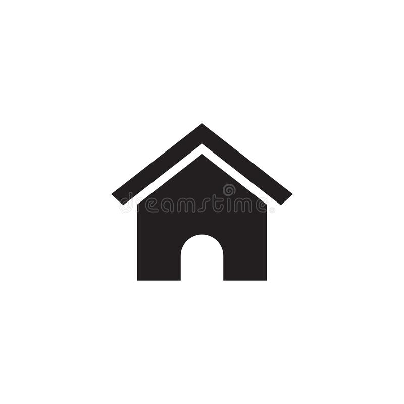 House icon real estate graphic design template vector stock illustration