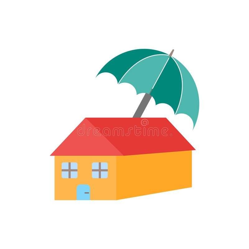 House icon vector isolated on white background, House sign , weather symbols vector illustration