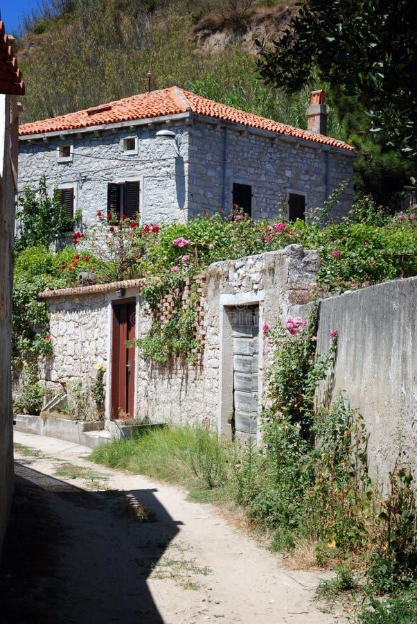 Free House In Susak Village Near Mali Losinj In Croatia Royalty Free Stock Photos - 66958708