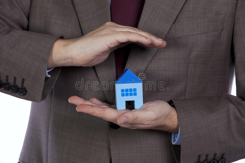 Download House Insurance stock photo. Image of agent, home, house - 17734360