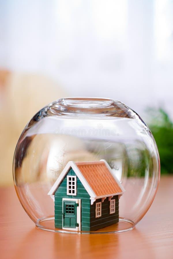 House insurance concept royalty free stock photos