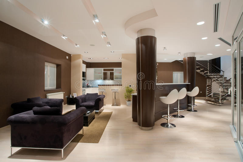 Download House Interior stock image. Image of architectural, building - 17763037