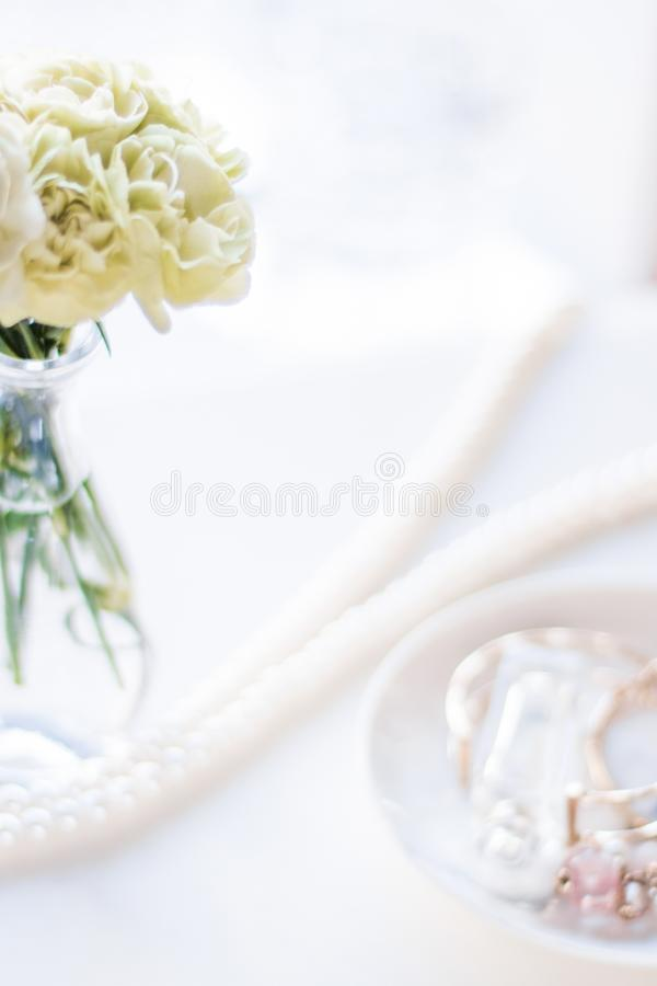 House interior decoration details - fashionable and luxurious home decor styled concept. Elegant visuals royalty free stock image