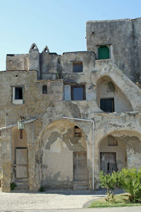 House, island procida, italy royalty free stock image