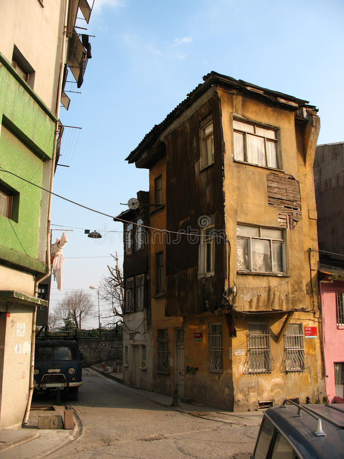 Download House In Istanbul's Slums Stock Photo - Image: 28582020