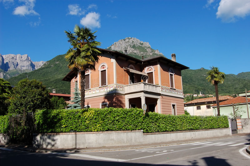 House in Italy royalty free stock photo