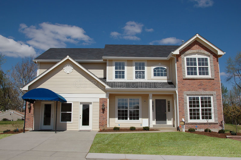 Download House Just Built For Sale Royalty Free Stock Photos - Image: 2316968