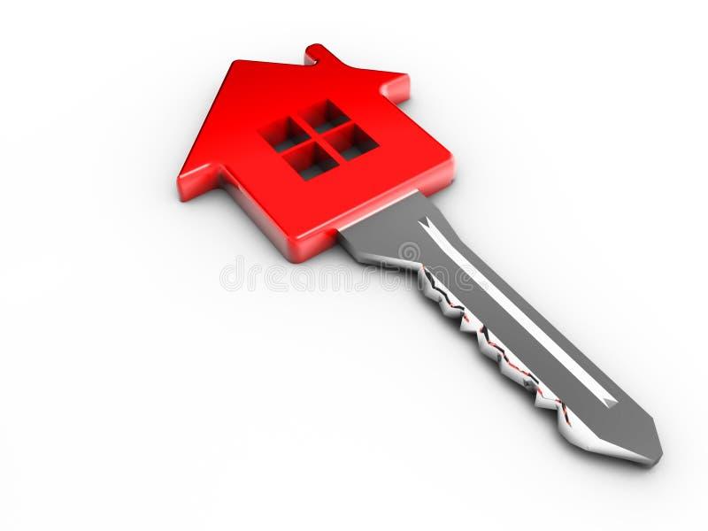 House key royalty free illustration