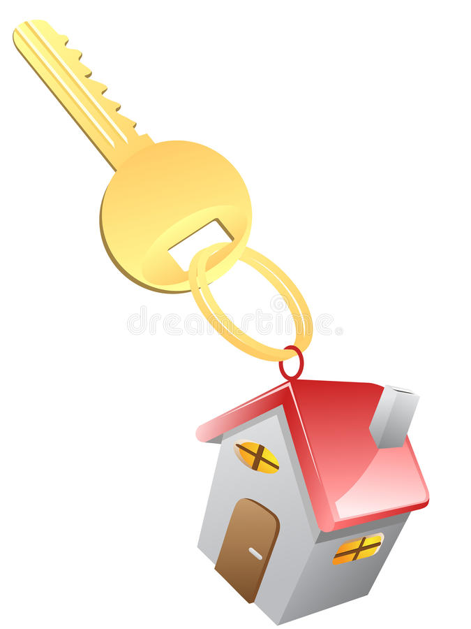 Download House Key stock vector. Image of document, moving, isolated - 27263148