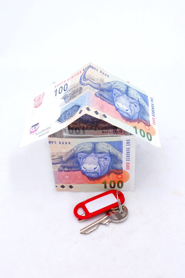House, Money And Key Concept Royalty Free Stock Photo