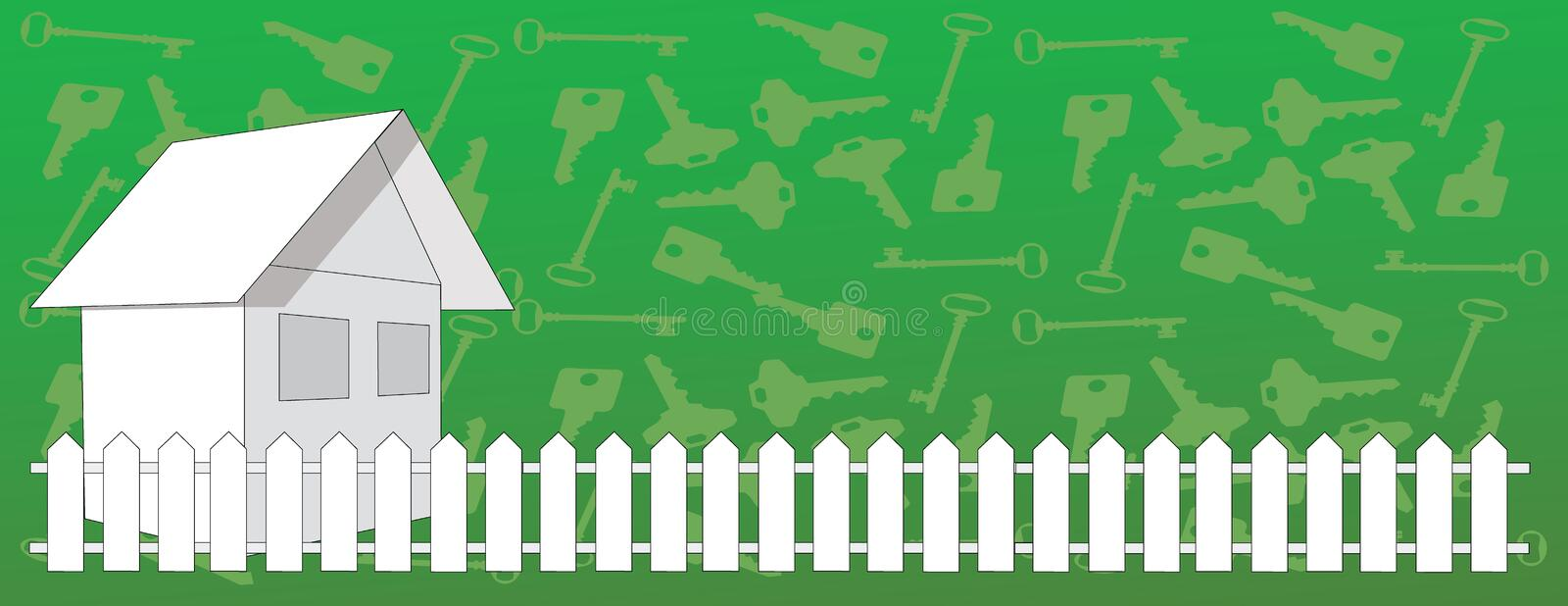 Download House and Keys stock vector. Image of house, home, keys - 11130659