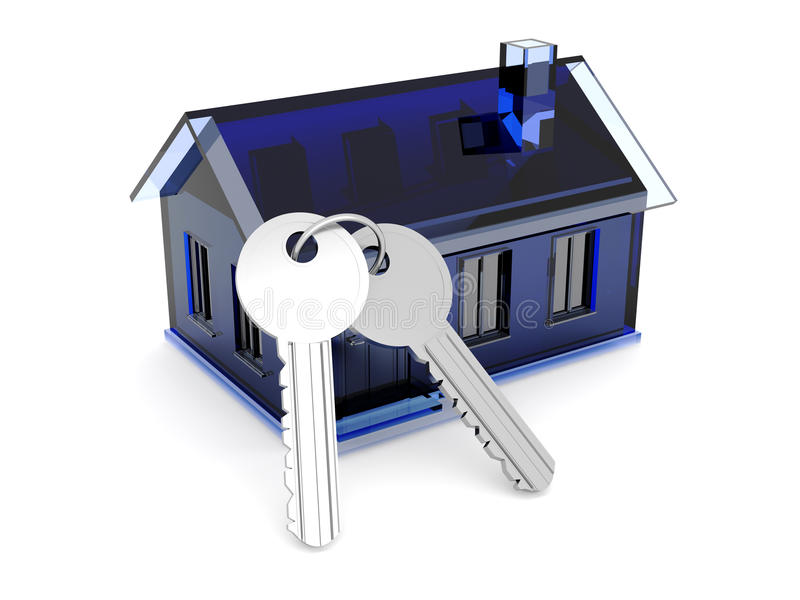 Download House and Keys stock illustration. Image of isolated - 15341282