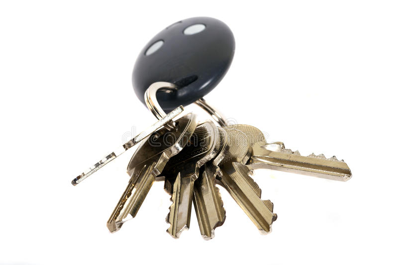 Download House keys stock photo. Image of white, residential, loan - 21864442
