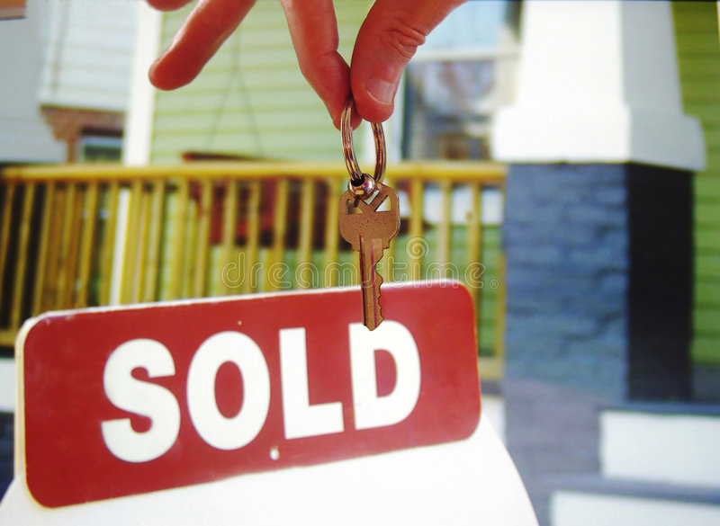 House keys stock images