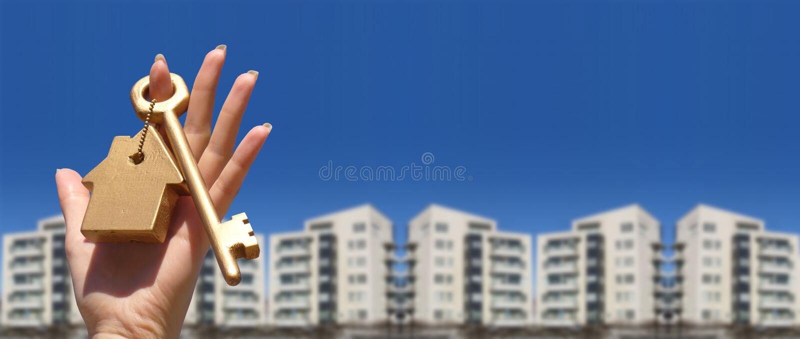 Download House keys stock image. Image of handing, condominium - 2580043