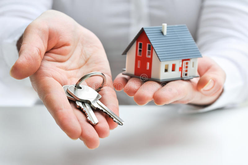 Download House and keys stock photo. Image of investment, estate - 29486442