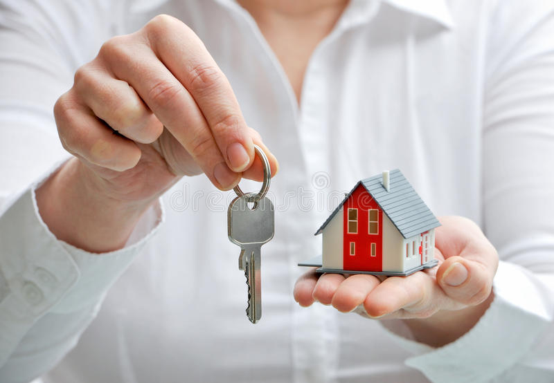 House And Keys Stock Image