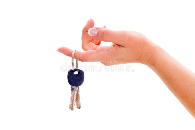 House keys stock photography