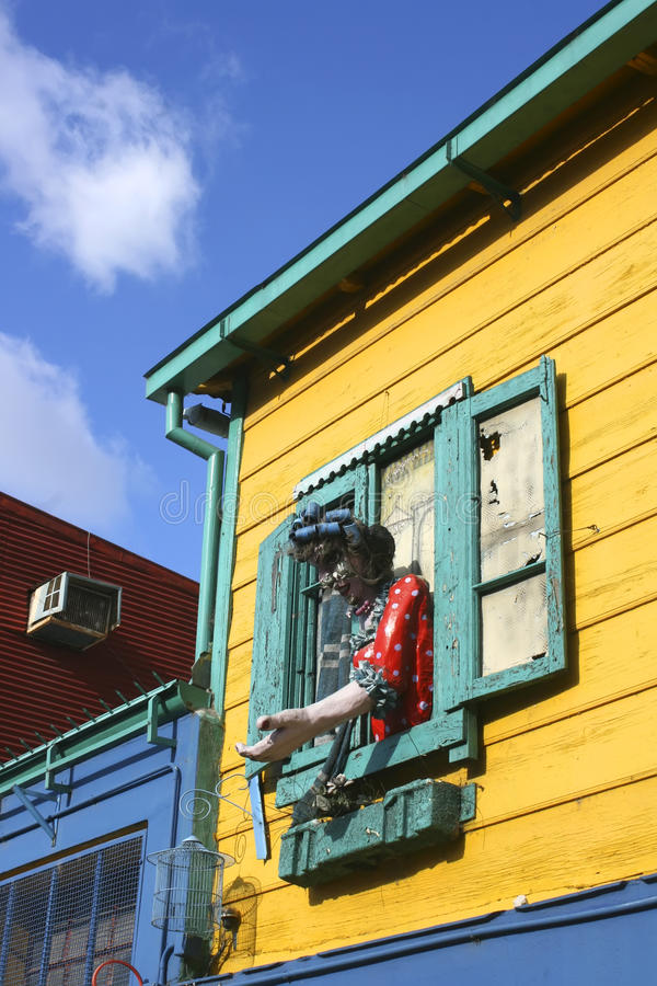 Download House In La Boca, Buenos Aires Stock Photo - Image: 18290710