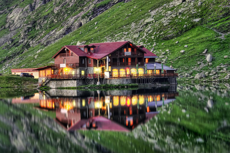 Download House on lake stock photo. Image of tourist, relief, lake - 29296666