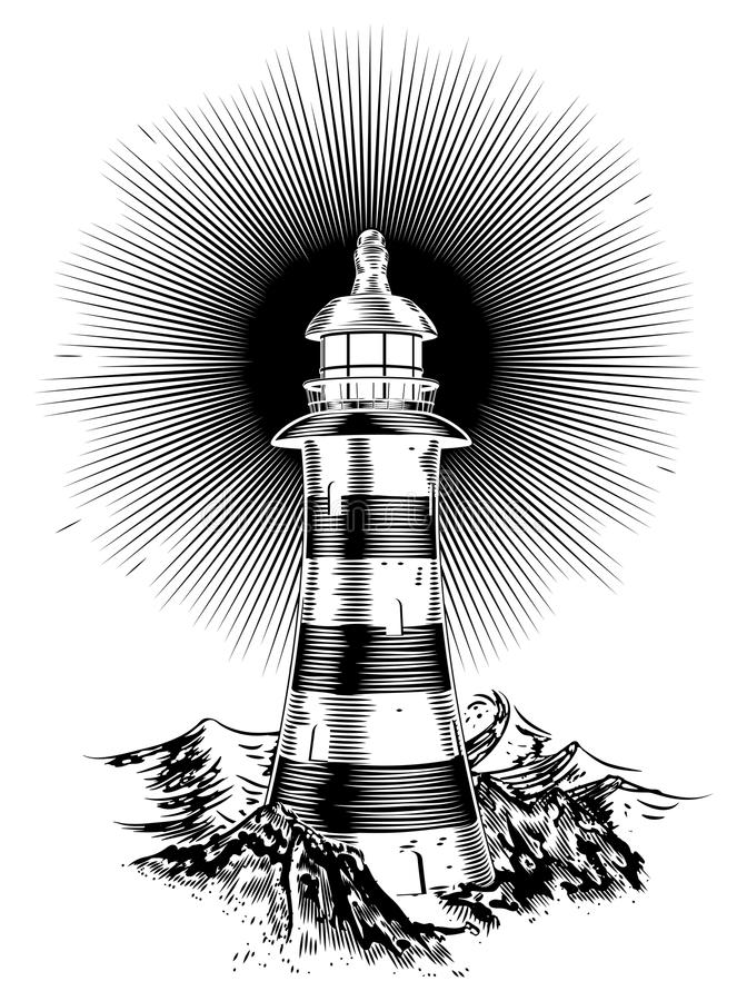 house lampa royaltyfri illustrationer