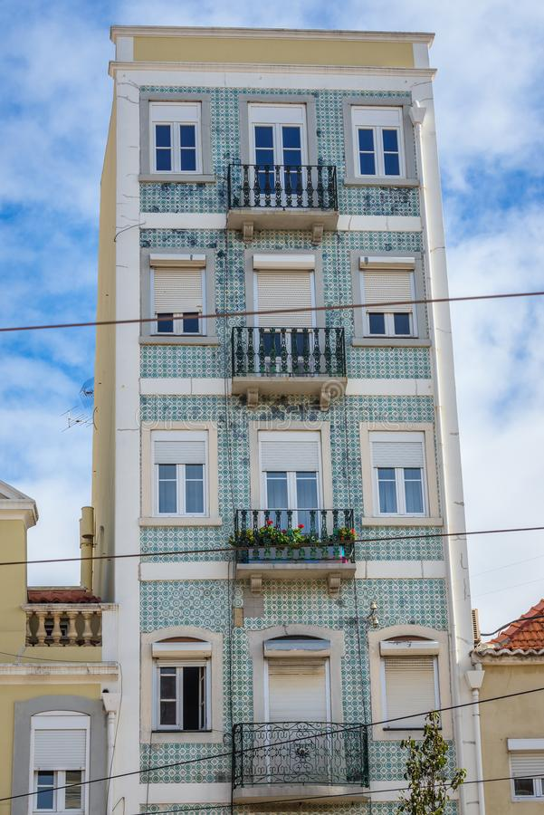 House in Lisbon royalty free stock photo
